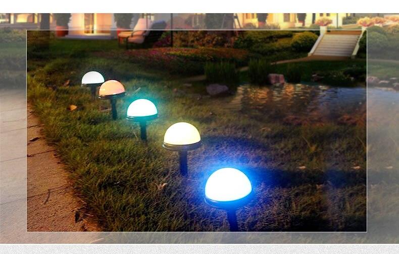 luzes sensor de parede colorido atmosfera luzes do jardim à prova d' água