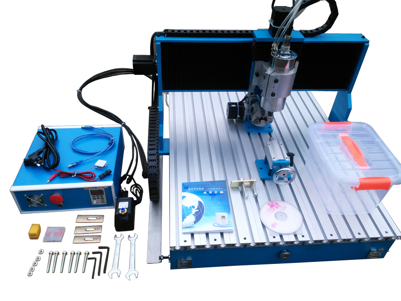 CNC Router Engraver/Engraving Drilling And Milling Machine LY CNC 6090L-2.2KW Linear Guide Rail