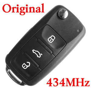 Original 3 Buttons 434 MHz Remote Key For VW Golf Jetta - 5K0 837 202 AD with 48 Chip