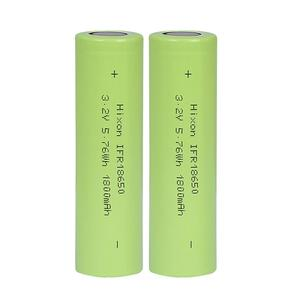 Image 4 - 4 pcs 1800mAh IFR18650 LiFePO4 3.2V  rechargeable battery with UN und UL certification