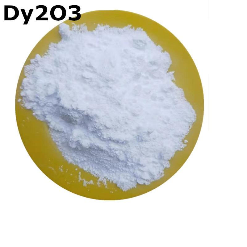 Dy2O3 Powder High Purity 99.9% Dysprosium Oxidation For R&D Ultrafine Nano Powders About 1 Um 10 Gram