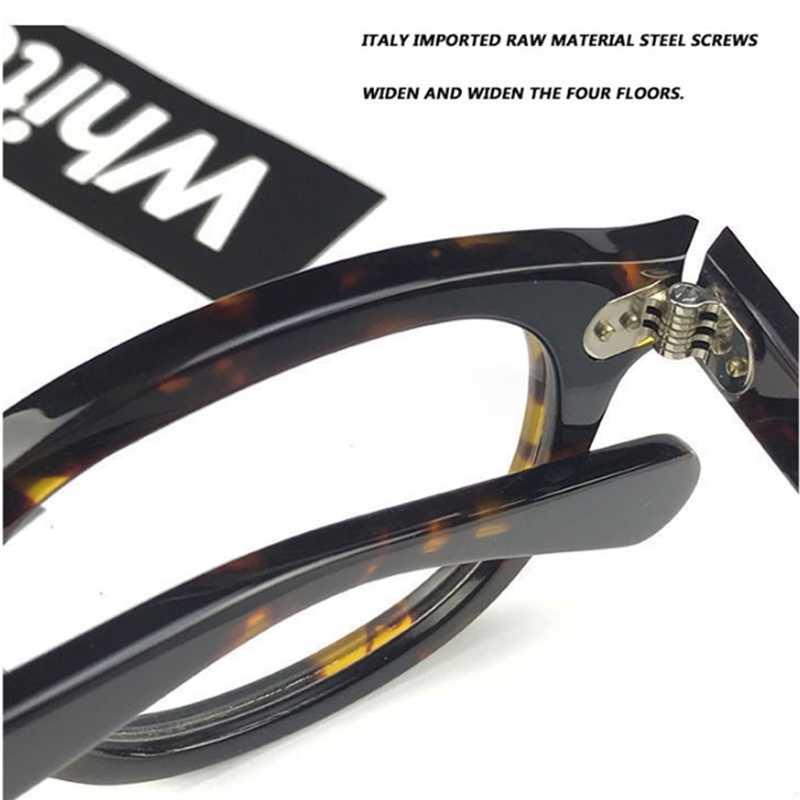 Джонни Деппом очки для чтения мужские Для женщин ацетата Ретро UV400 дальнозоркостью диоптрий + 1,0 + 1,5 + 2,0 + 2,5 + 3,0 + 3,5 + 4,0 коробка