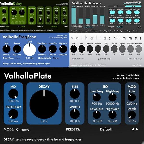 ValhallaDSP bundle 2020 CE 套装