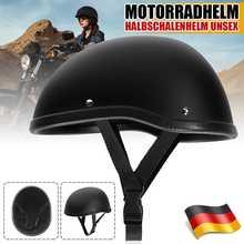 Retro Vintage Motorcycle Helmet Half Open Face Helmet Motocross Retro German Style