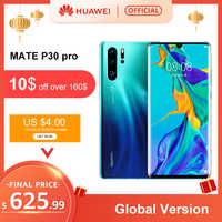 Versión Global Huawei P30 Pro 8GB 256GB Kirin 980 Octa Core Smartphone 50x Zoom Digital Quad Cámara 6,47 pantalla completa OLED NFC