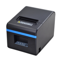 80mm Thermal Printers POS Printer Receipt Printer With auto Cutter Bluetooth USB Ethernet Port For Kitchen Restaurant Store