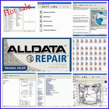 Alldata Software in 640GB HDD usb3.0 High quality All data V10.53 Auto Repair Hard disk Diagnostic