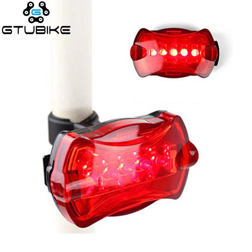 LED Waterproof Tail Light Bicycle Taillight For Bicycle Reflector Rear Lights Bike Lamp  Lantern Accessories