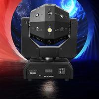 Luci da discoteca professionali per DJ luci a LED a fascio laser stroboscopico 3in1 testa mobile calcio luce DMX Nightclub party show stage lighting