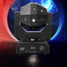 Professionelle DJ Disco Ball Lichter LED strahl laser strobe 3in1 moving head fußball licht DMX Nachtclub party zeigen bühne beleuchtung