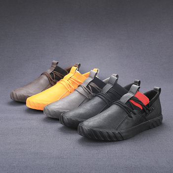 Outdoor Comfortable fashion casual male shoes men high top sneakers for men adult Men Loafers