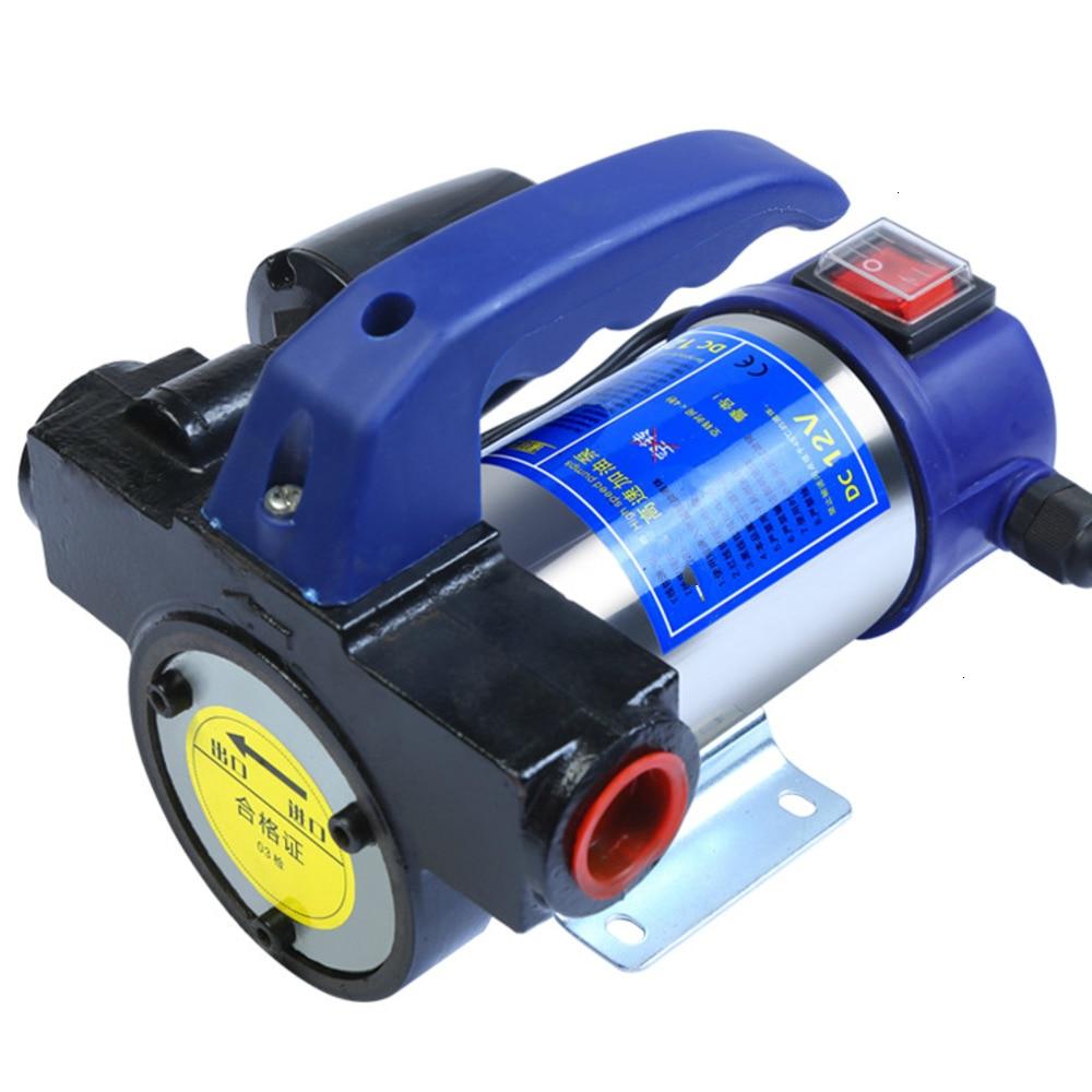 12V 24V 220V Electric Diesel Kerosene Portable Fuel Oil Transfer Pump Self Priming With Pressure Switch Auto Pump