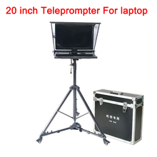 20 Inch Big Teleprompter For Computer Laptop Teleprompter For Video Speech News Live Interview Large Prompter