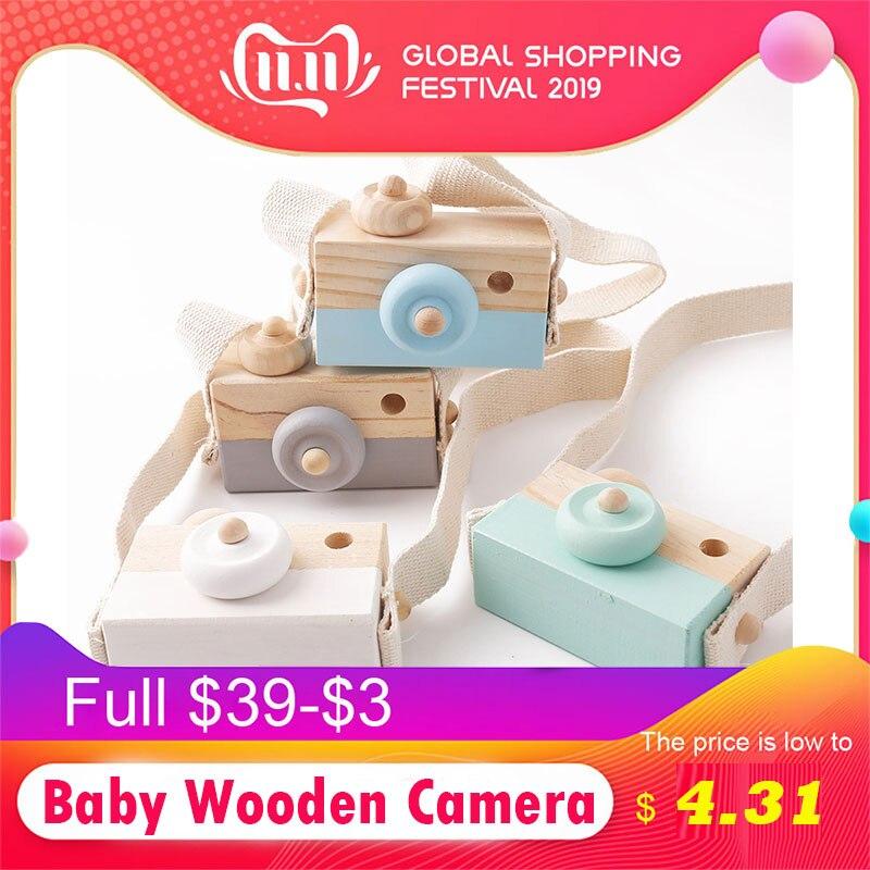 Let's make 1 шт. детская деревянная игрушка камера модная подвеска для маленьких детей подвесная камера реквизит украшение Скандинавская