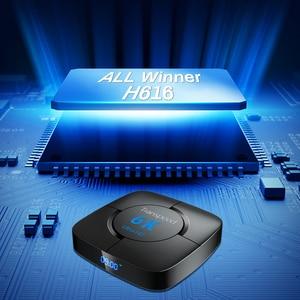 Image 3 - صندوق تلفزيون Transpeed بنظام أندرويد 10.0 وبلوتوث, يأتي معه خاصية المساعد الصوتي لجوجل وإمكانية عرض بدقة 6K 3D وإتصال Wifi 2.4 4G&5.8G مع ذاكرة 4GB 64GB وبلاي ستور صندوق علوي سريع جدا