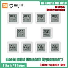 2020New 1-10 pièces Xiaomi Mijia thermomètre Bluetooth 2 sans fil intelligent hygromètre numérique thermomètre fonctionne avec Mijia APP
