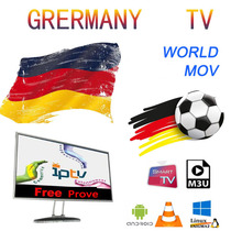 World IPTV German Nederlands Spain USA Portugal world m3u for Android Box Enigma