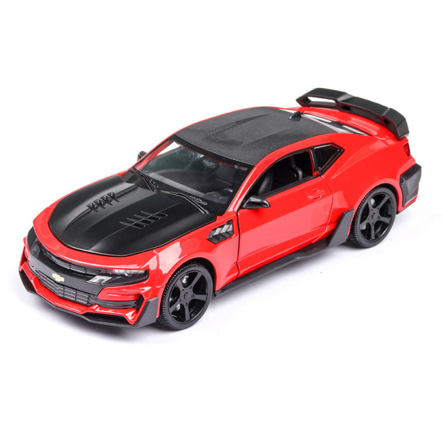 1/24 Diecasts & Toy Vehicles Chevrolet Camaro Continental Car Model Collection Car Toys For Boy Children Gift brinquedos
