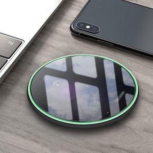 Image 5 - 10 واط تشى اللاسلكية شاحن آيفون 11 برو X XR ماكس USB اللاسلكية كابل شحن لهواتف سامسونج شاومي هواوي شاحن الهاتف لوحة لاسلكية