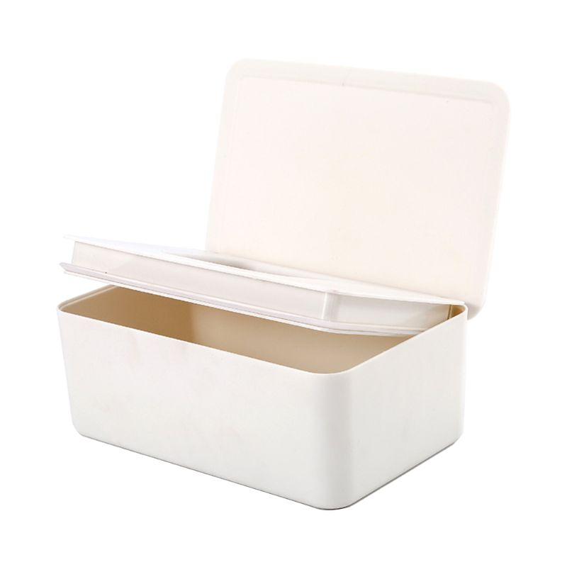 Wet Wipes Dispenser Holder Tissue Storage Box Case With Lid  For Home Stores Y51E