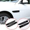 Для Jaguar XE F-PACE X760 X761 накладка на заднее отверстие для автомобиля ABS аксессуары из углеродного волокна 2 шт.