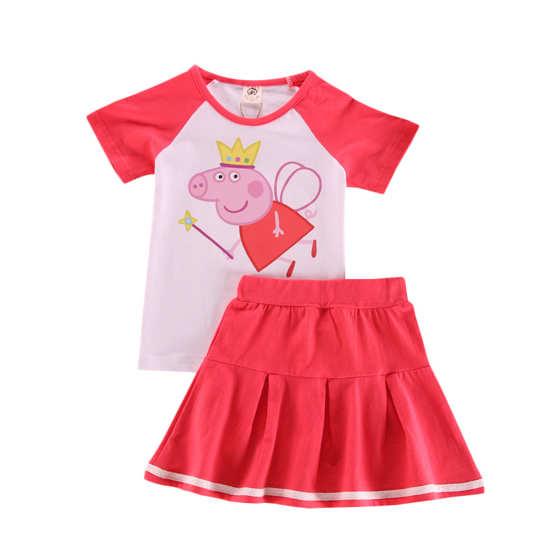 Clothes Peppa Pig Boys Clothes Baby Kids Sets Children Chase Rocky Short Sleeve Toy Plus Velvet Sweater Suit Dolls New Wholesale
