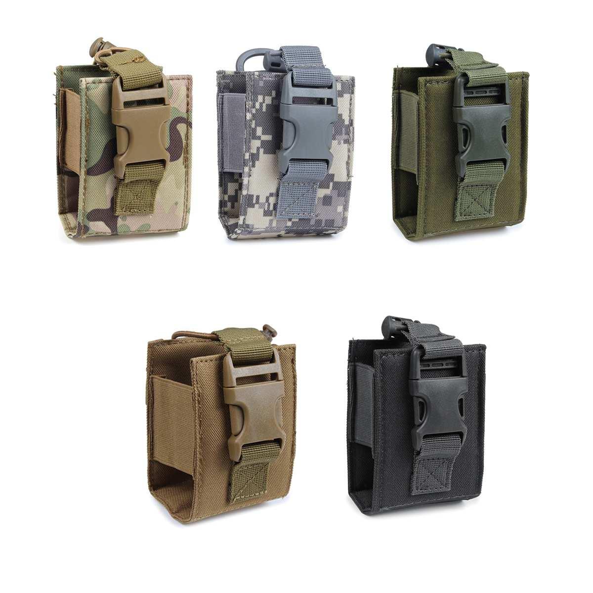 Walkie Talkie Pouch Interphone Storage Bag Outdoor Radio Pouch For   Walkie-Talkie Case Holder
