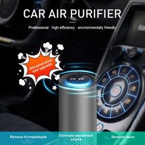 Image 2 - Giahol Auto Luchtreiniger Hepa Filter Negatieve Ionen Generator Zuiveren Lucht In Auto Draagbare Luchtreiniger Voor Auto Thuis Desktop