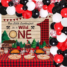 66 pçs vermelho preto branco balão guirlanda arco kit vermelho confetes balão para festa de aniversário do casamento do bebê suprimentos