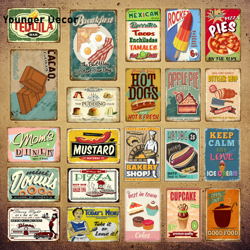 Man Cave Bar Cafe Hot Pizza Framed Canvas Art Print Poster Kitchen Diner