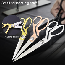Professional Tailor's Scissors Stainless Steel Vintage Sewing Scissors for Needlework Tailor Shears Fabric DIY Tool Cutter
