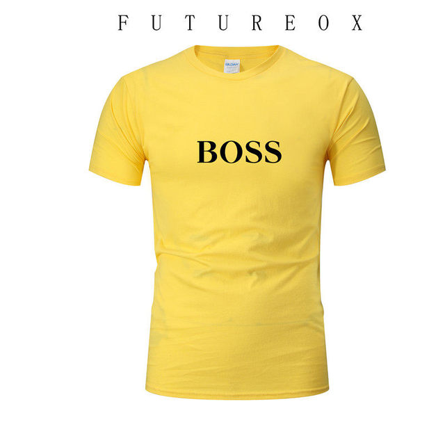 2020 new summer men's fashion T-shirt printed