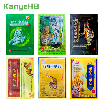 8Pcs/bag Of 6 Different Types Tiger Balm Pain Relief Patch Back Muscle Arthritis 100% Original Natural Herbal Medical Plaster new thai herbal massage chamois balm oil relief paralysis muscle pain tinnitus colds free shipping