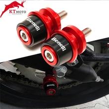 Motorcycle CNC Swingarm Spool Slider Stand Screws For Benelli TNT300 TNT600 BN600 BN302 Stels600 Keeway RK6 BN TNT 300 302 600