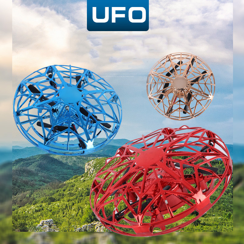 Anti-collision Flying Helicopter Magic Hand UFO Ball Aircraft Sensing Mini Induction Drone Kids Electric Electronic Toy