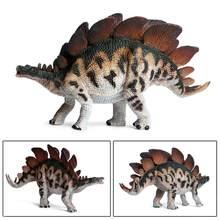 Dinosaurio de juguete de simulación de dibujos animados, Tiranosaurio Rex, Velociraptor Stickleback para colección de seguidores, regalo, pterosauro, Figur de vacaciones, Q6U3