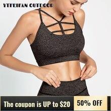 Одежда для тренировок женщин топ йоги спортивный бюстгальтер