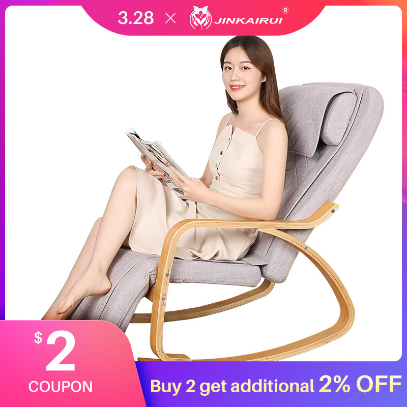Jinkairui Multifunctional Electric Home Massage Chair Neck Waist Kneading Heating Whole Body Massage Relax And Relieve Pain