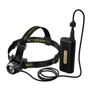 Image 2 - 2020 Topsale Nitecore HC70 1000 lümen USB şarj edilebilir kafa lambası + 2x18650 harici pil paketi su geçirmez yüksek kafa lambaları