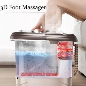 Image 4 - Chân Massage Tự Động Chân Lưu Vực Điện Làm Nóng Máy Nhà Sử Dụng Ngón Tay Nhào Khử Trùng Massage Thái Cực Nhào Spa