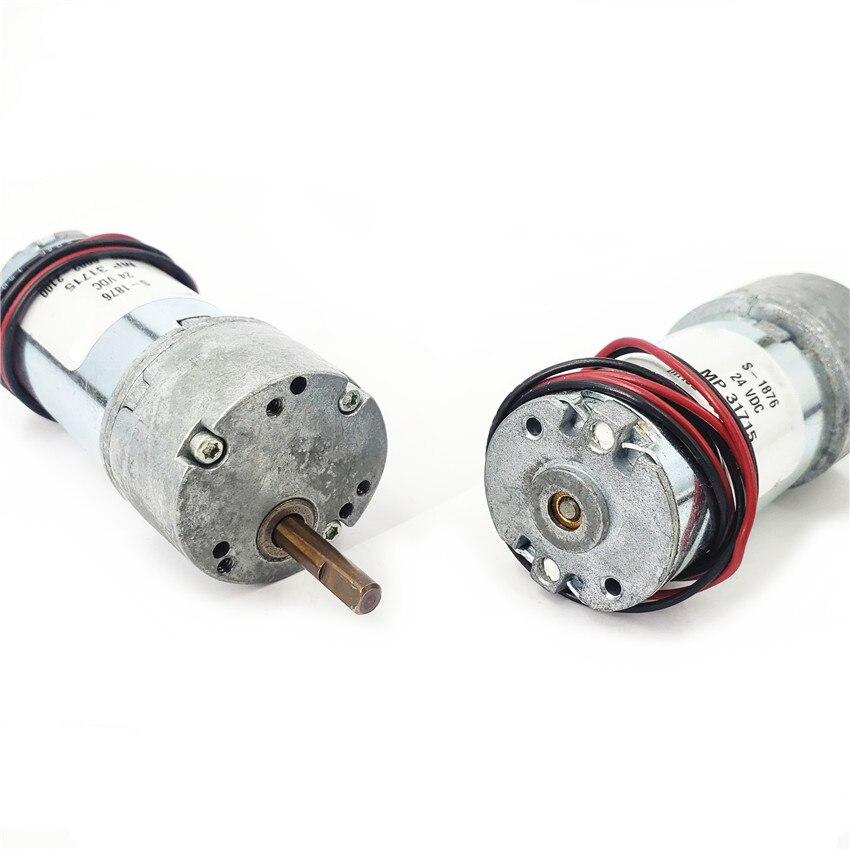 1PCS 12V DC 300 RPM High Torque Gear-Box Electric Motor Hot NEW L
