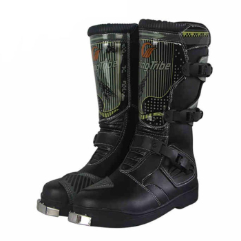 PRO-BIKER Motorcycle Boots Men Riding Boots Racing Motocross Boots Off-Road Motorbike Riding Moto Boots Waterproof Shoes pro biker motorcycle boots moto shoes for motorcycle riding racing motocross boots waterproof motorbike boots black red white