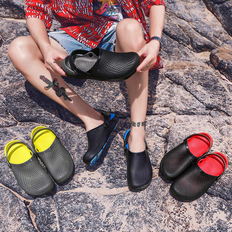 Women Sandals Mens Summer Water Shoes Light Breathable Casual Slippers Swimming Walking Beach Sports Anti-slip Flip Flops Soft