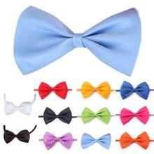 Мягкий разноцветный милый галстук бабочка для домашних питомцев