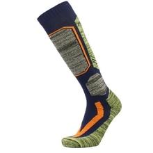 Зимние теплые лыжные носки, длинные толстые хлопковые спортивные носки для сноуборда, лыжного туризма, удобные термоноски для мужчин и женщин