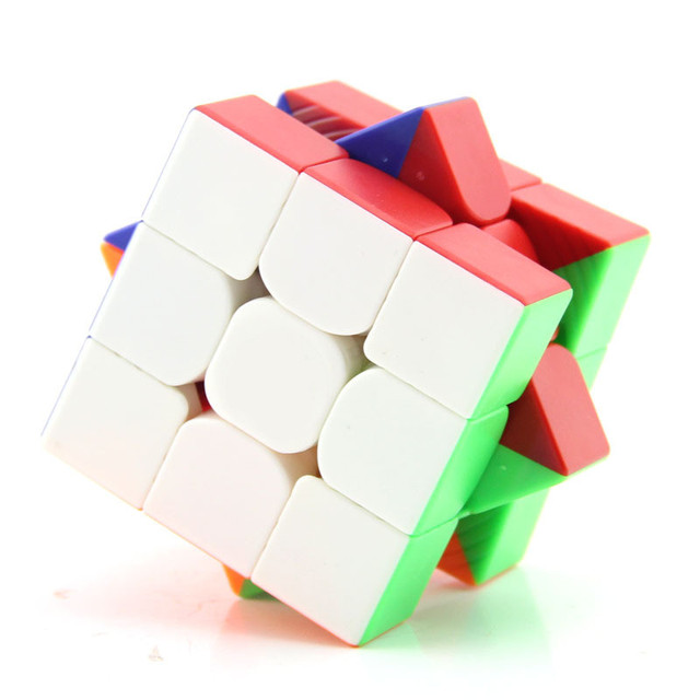 Yuxin Little Magic 3x3 Cube Black/Stickerless/white Sticker Puzzle Early Educational Toy 4