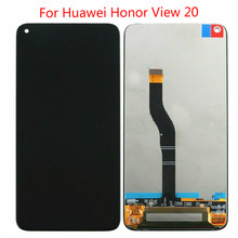 High Quality For Huawei Honor View 20 LCD Display Screen Touch Digitizer Assembly Honor V20 LCD Display Touch Replacement high quality lcd display for prestigio muze a7 psp 7530 duo psp7530duo psp7530 lcd display digitizer assembly replacement