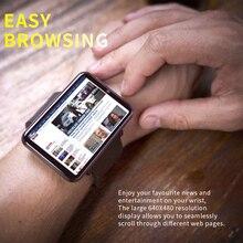 2.86inch HD Large Screen 4G Smart Watch Phone Android 3GB 32GB 2700MAH Big Battery 500w Camera Gps Wifi Mp4 Sim Sport Smartwatch askmeer h8 men smart watch 4g wifi gps sport watch phone android 7 1 os mtk6739 1g 16gb ip68 waterproof smartwatch 5 0mp camera