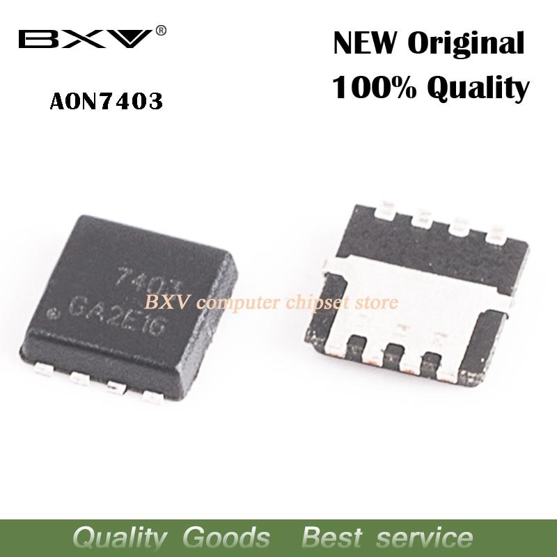 10pcs/lot AON7403 AO7403 7403 QFN MOSFET New