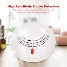 433MHz drutu-mniej detektor dymu inteligentny czujnik przeciwpożarowy system alarmowy do domu wysoka wrażliwość dym detektor ognia tanie tanio